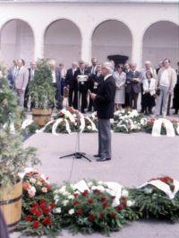 Kulin György temetése - Ponori Thewrewk Aurél gyászbeszéde (1989)
